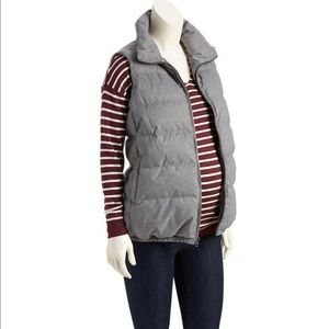 New Maternity Quilted Outerwear Vest